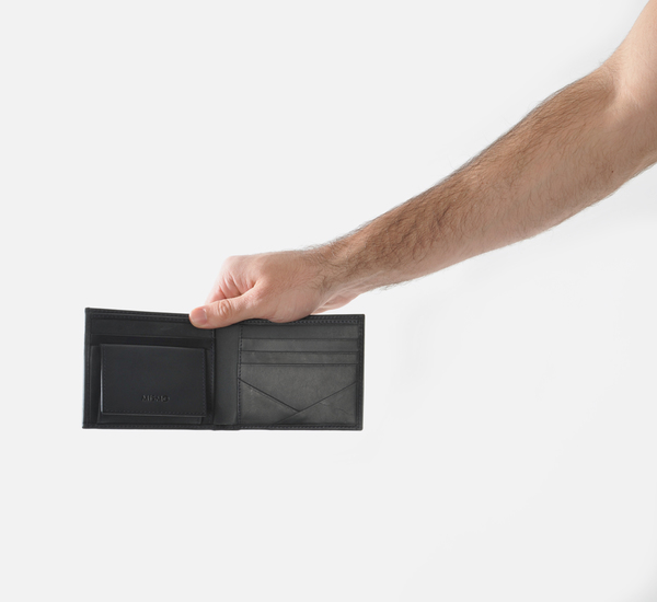 Navy Billfold Wallet by Mismo