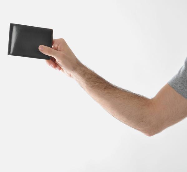 Il Bussetto Cappuccino Bi Fold Wallet