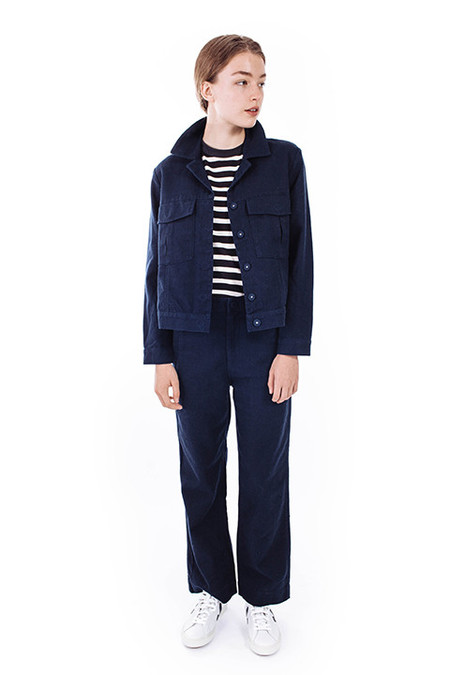 Ganni Yoshe Jacket in Iris