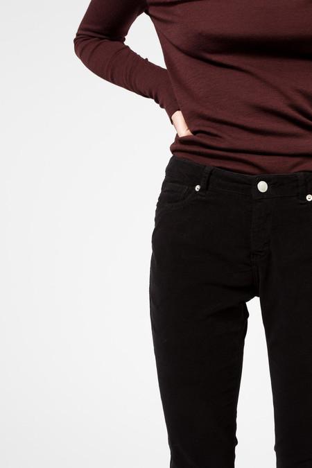 Maison Kitsune Velvet Skinny Pant