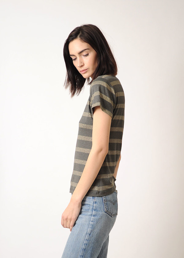 Conifer Gold Stripe T-Shirt