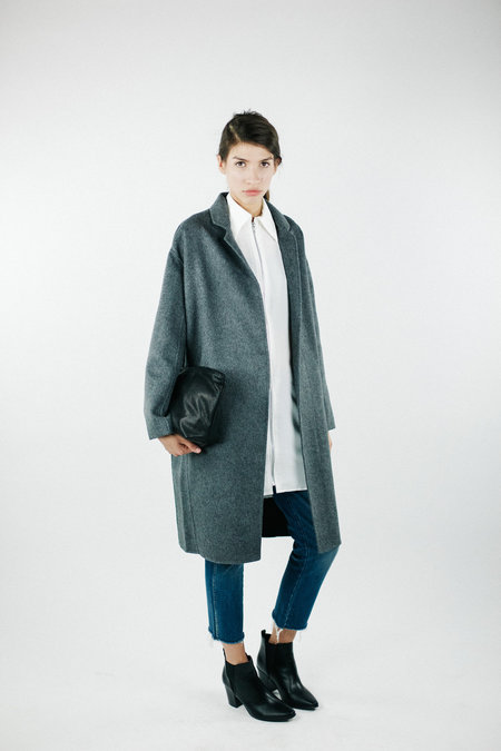 Acrho Achro Handmade Long Coat - Grey
