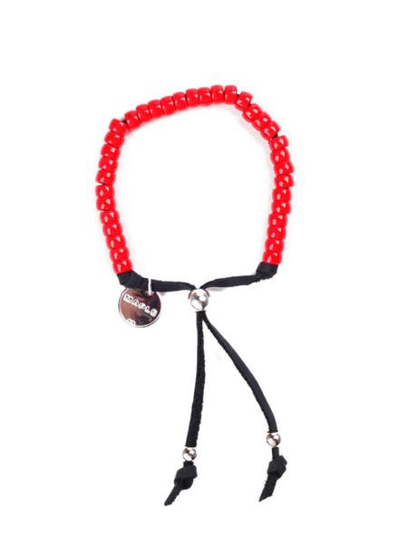 Men's MAPLE Bolo Bracelet Red