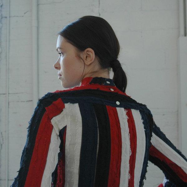 Nikki Chasin Ari Mockneck Top - Red Multi