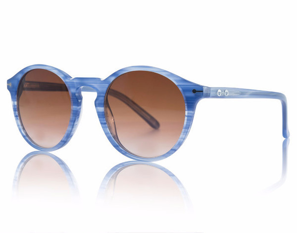 Sons + Daughters Clark Sunglasses Blue Dusk