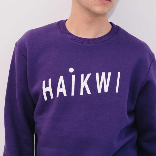 Haik W/ Logo Sweatshirt