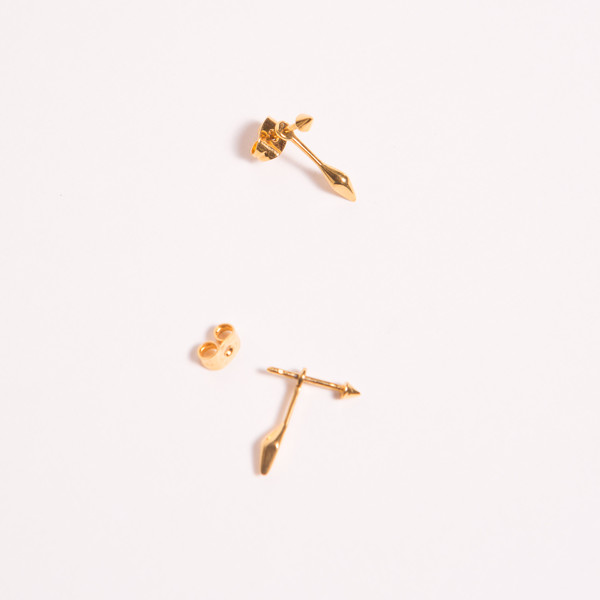 A Peace Treaty Mahala Gold Earrings