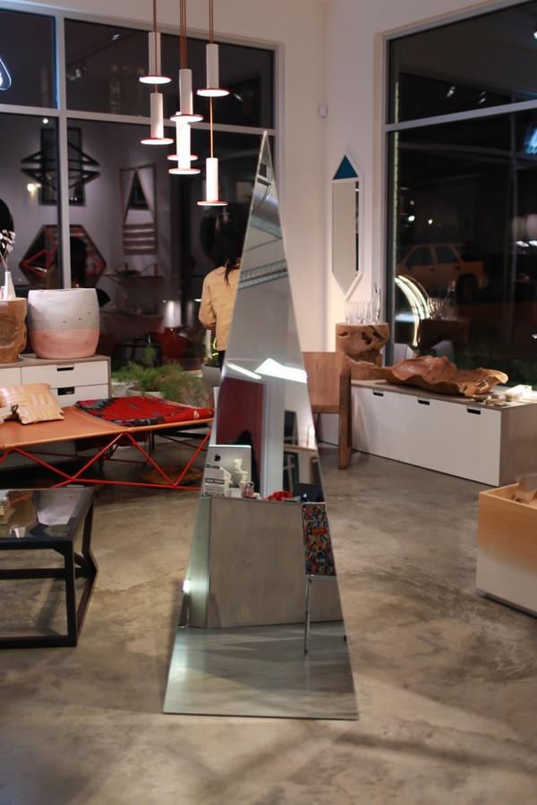 Keren Bernard Designs Pyramid Corner Mirror