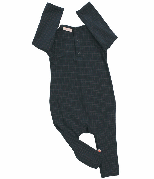 Tiny Cottons Medium Grid One-Piece
