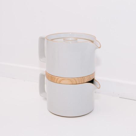 Hasami Tea Pot - Gloss Gray