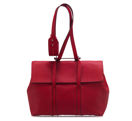 Bonastre Red Medium Shoulder Bauhaus Bag