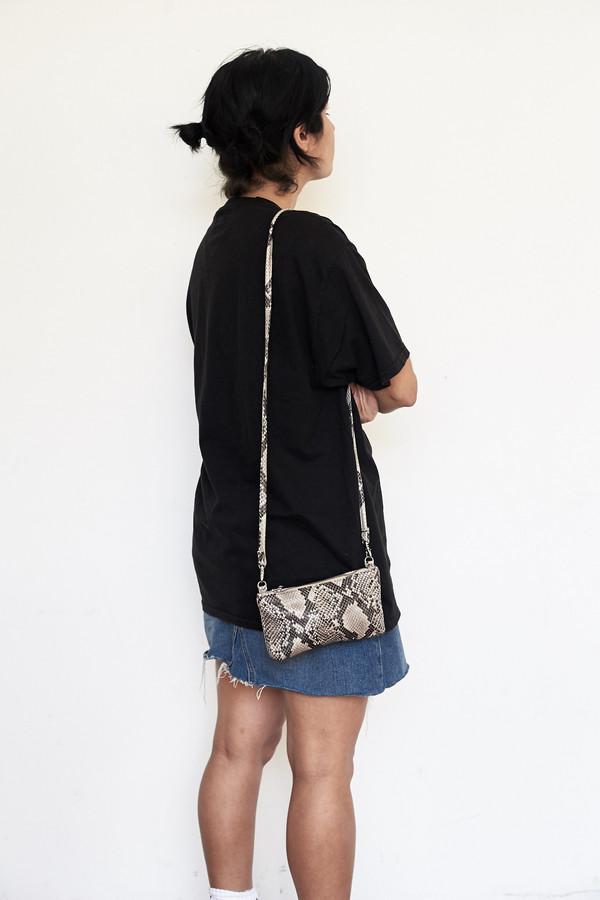 Clyde Monika Wallet Bag - Python