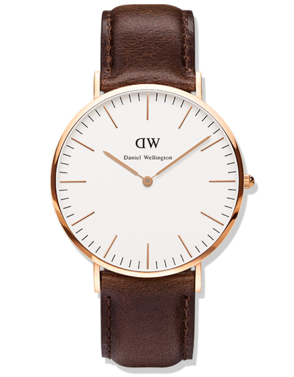 Daniel Wellington Bristol Watch Rose Gold 40mm