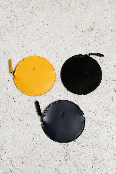 Vere Verto Mon Coin Purse - yellow, black, navy