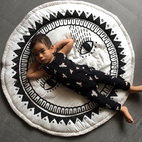 Kid's Wee Gallery ORGANIC COTTON SUNSHINE PLAYMAT