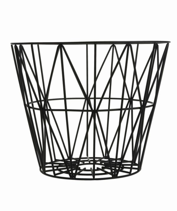 WIRE BASKET - VARIOUS COLORS & SIZES