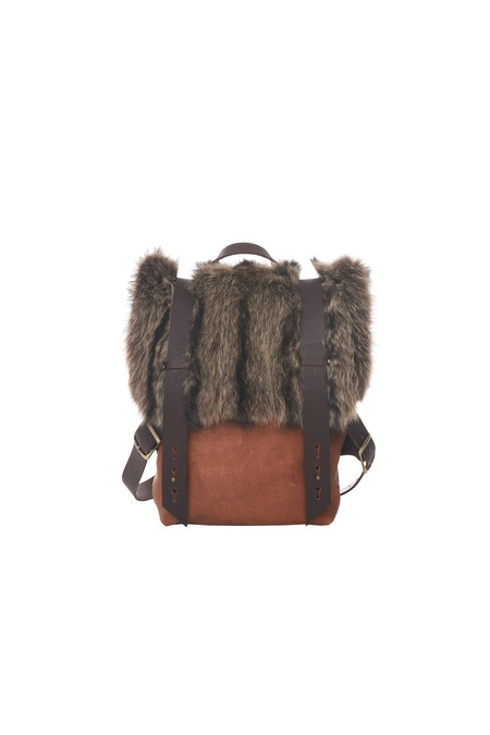 Lowell AMSTERDAM FOURRURE DE CHAT SAUVAGE RECYCLÉE / RECYCLED RACOON FUR