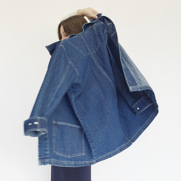 Johan Vintage Denim Work Jacket