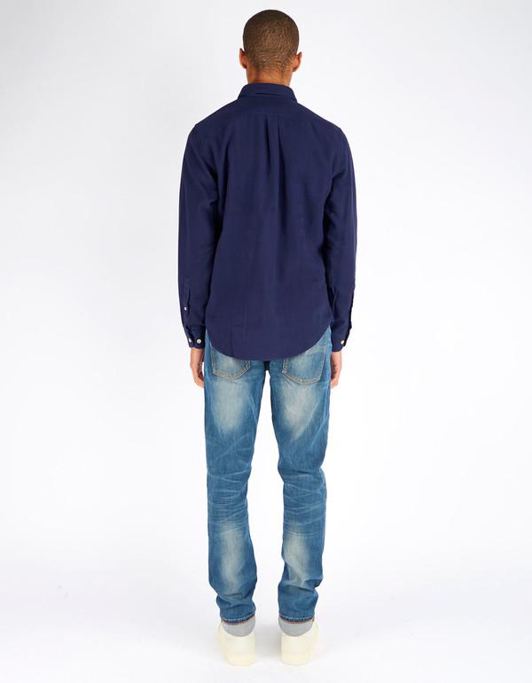 Men's Portuguese Flannel Teca Shirt Blue