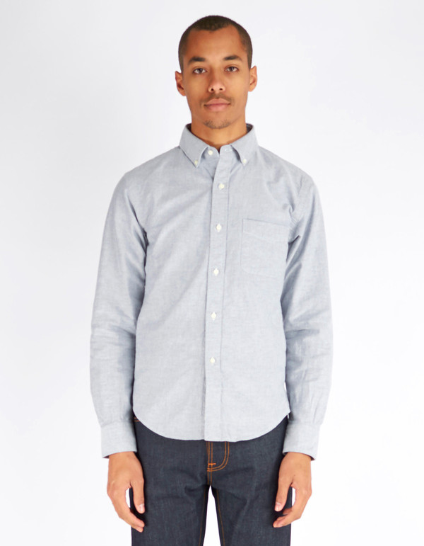 Shuttle notes Officer Shirt Grey