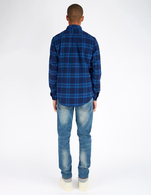 Men's No Nationality Dexter Flannel Blue