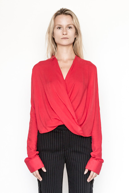 Assembly New York Rayon Twist Top
