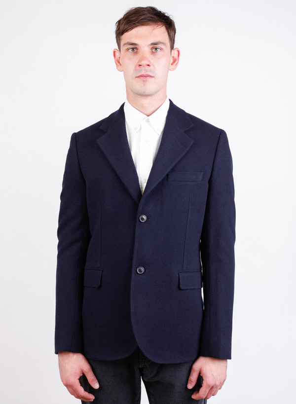 Men's Our Legacy Control Blazer Worsted Military Wool