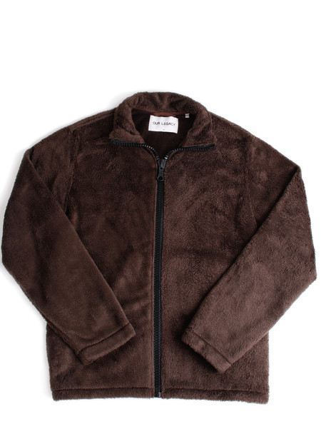 Men's Our Legacy Funnel Blouson Mudd Polarfleece