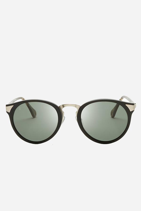 Raen Optics Nera polarized sunglasses in Matte Black/Brindle