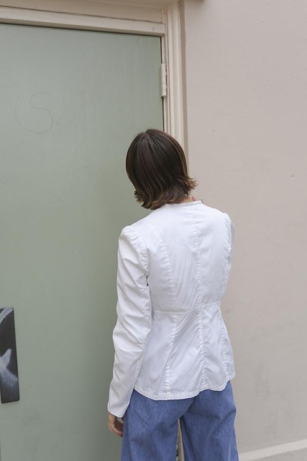 NONNA Vintage Dries Van Noten Tie Jacket/Top