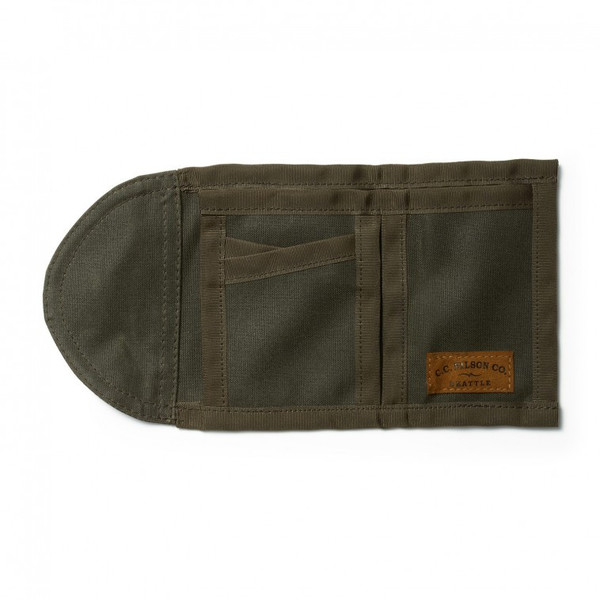 Filson Oil Tin Tri-Fold Wallet