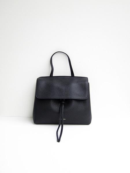 Mansur Gavriel Mini Ladybag, Tumbled, Black