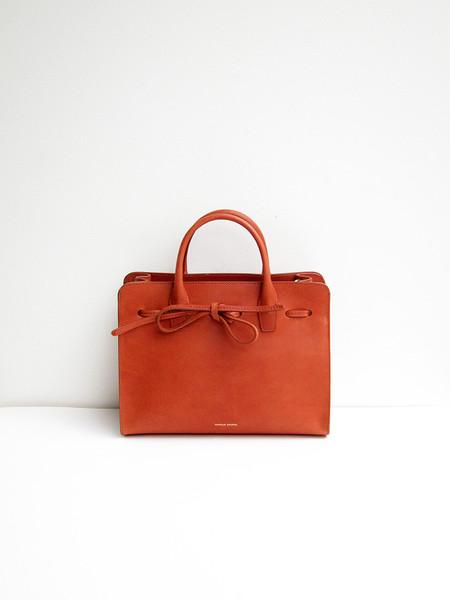 Mansur Gavriel Mini Sun Bag, Brandy