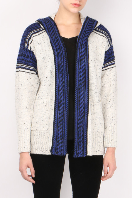sita murt Tweed Knit Jacket