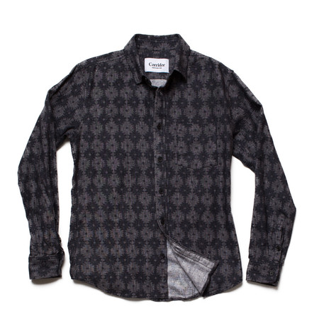 Men's Corridor Black Meso Flannel