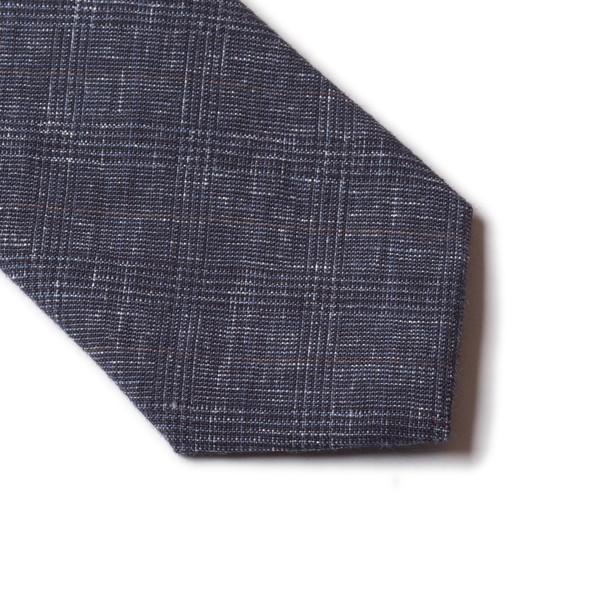 Linen Check Tie