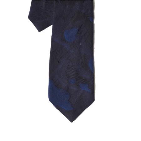 Corridor Navy Camo Tie