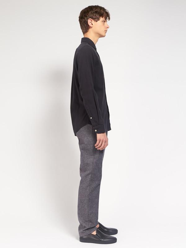 Men's Portuguese Flannel Teca Shirt Black