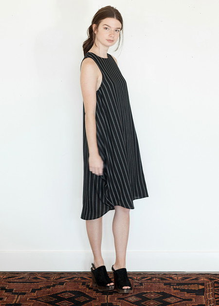 Megan Huntz Yoonhwa Dress, Striped