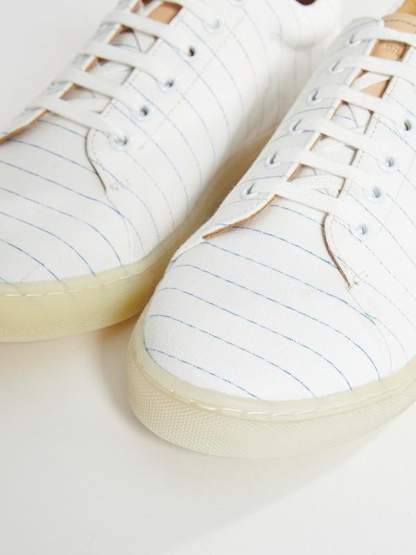 Men's Commune de Paris Baskets Sneakers Thin Stripe