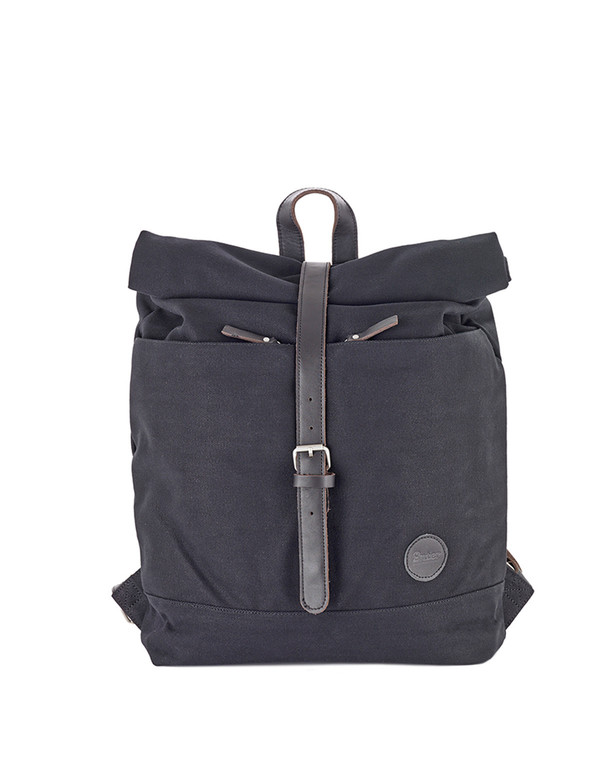 Enter Classic Collection Roll Top Backpack Black