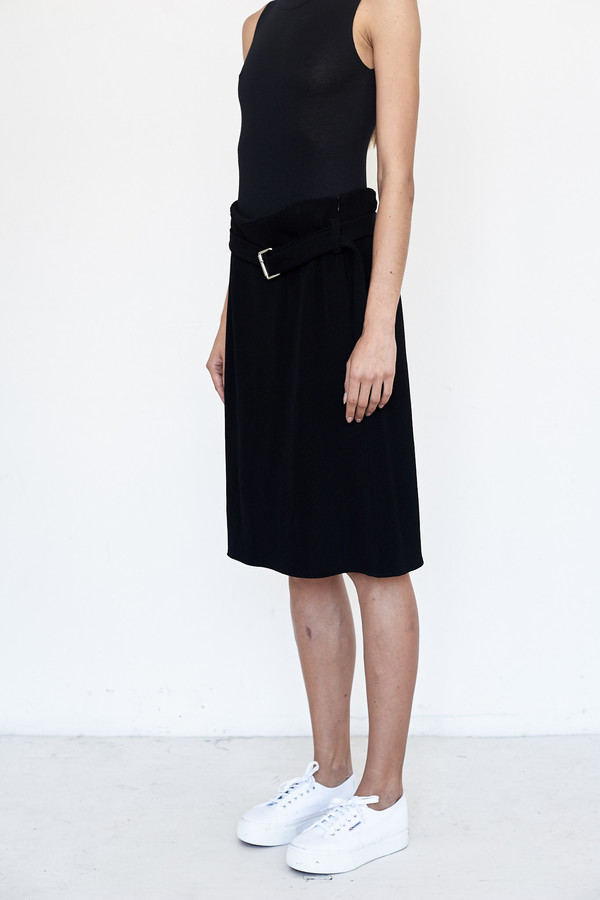 Index Series Waffle Knit Skirt