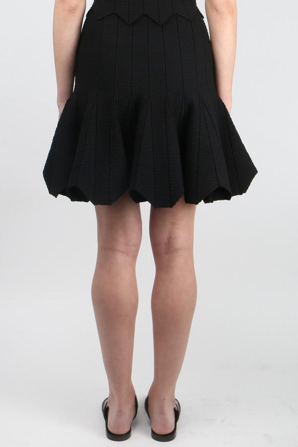 Jonathan Simkhai Pointelle Scallop Skirt