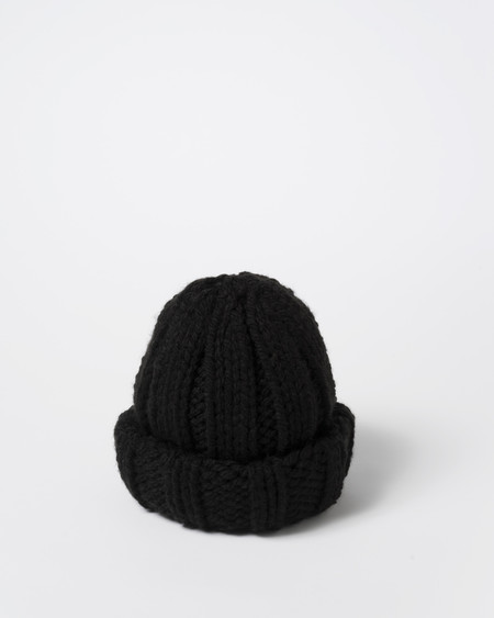 Clyde Arp Knit Hat in Black