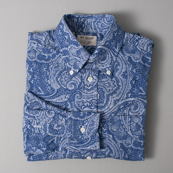 Men's Ike Behar Classic Cambridge Shirt