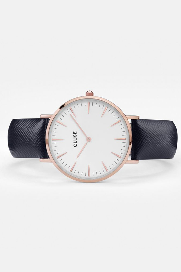 CLUSE WATCH La Boheme Rose Gold White/Midnight Blue