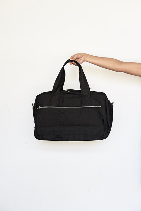 Porter Cotton/Nylon Boston Bag