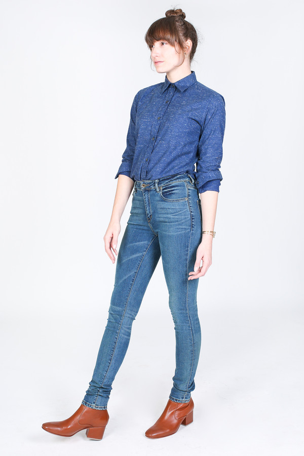 Raleigh Denim Workshop Haywood high rise skinny in TKO wash