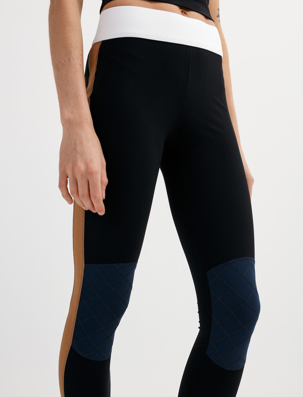 No Ka Oi Womens Kina Leggings Cinnamon/Marine