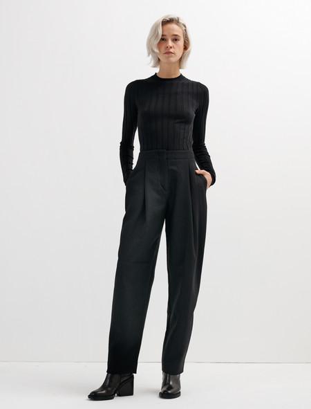 Acne Studios Selah Dry Trousers Black